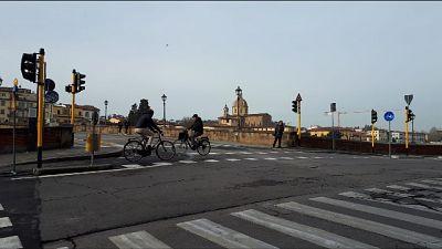 Coronavirus: Firenze, città rallentata