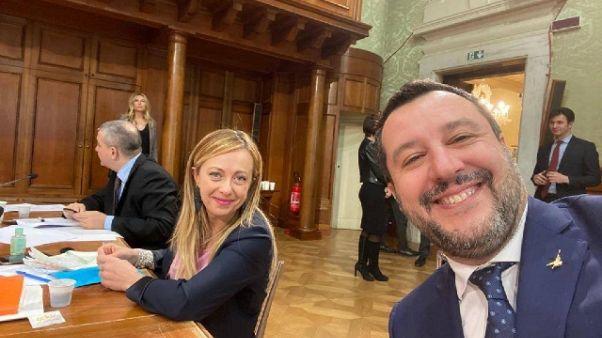 Salvini, no governo a misure drastiche