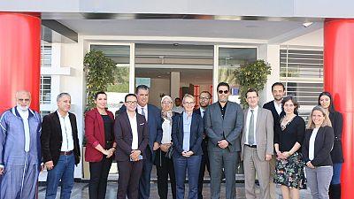 Déplacement de l'Ambassadrice Hélène Le Gal à Agadir 7/8 mars 2020
