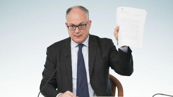 Gualtieri, venerdì decreto da 12 mld