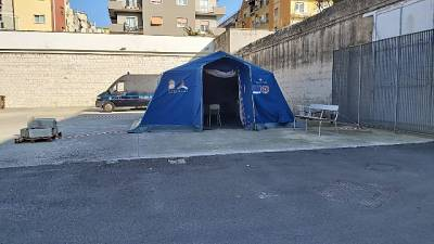 Coronavirus: pre-triage in carcere Bari