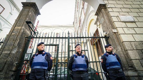 Raid caserma, in due restano in carcere