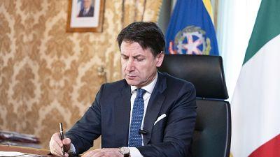Conte, Eurogruppo solo su coronavirus