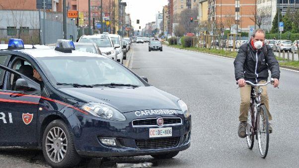 124 denunce ieri nel Milanese