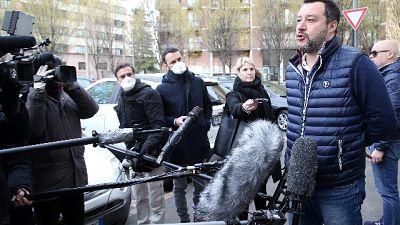 Salvini, 10mila positivi in Lombardia
