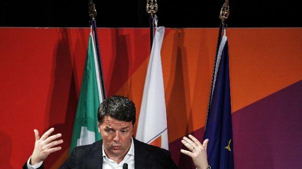 Renzi, Lagarde ha sbagliato messaggio