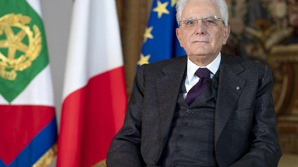 Mattarella ricorda ora servitori Stato