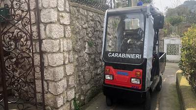 Capri,spesa a casa con mezzo speciale Cc