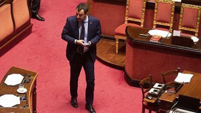 Salvini, al Colle? Se Conte non risponde