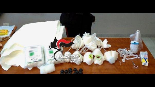 Coronavirus:produceva mascherine in casa