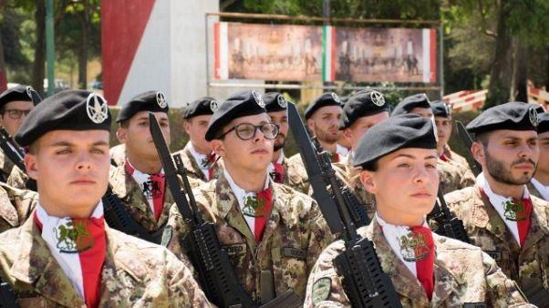 Pressing per impiego Brigata Sassari