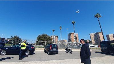 A Bari controlli con drone e esercito