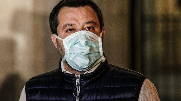 Salvini, su lavoro nero cadono braccia