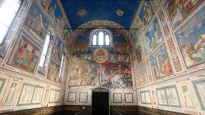 Padova ricorda Giotto, messa Scrovegni