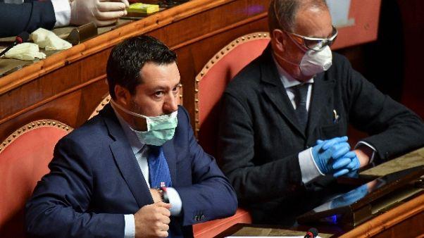 Salvini, collaborativi ma non spettatori