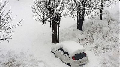 Ancora vento forte e neve in Toscana