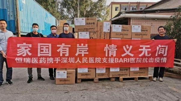 Coronavirus: da Cina Dpi a ospedale Bari