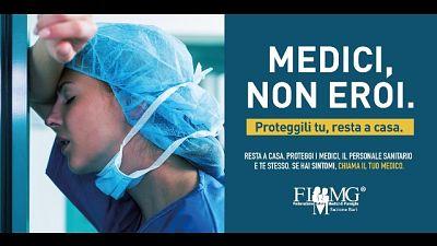 Coronavirus:Fimmg Bari 'Medici,non eroi'