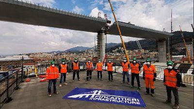Ponte Genova: 50 operai in quarantena