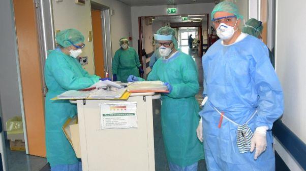 Coronavirus:66.414 malati,4.401 più ieri