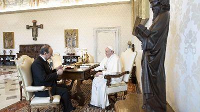 Il Papa incontra Rettore della Cattolica