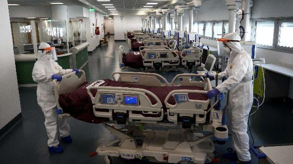 Piemonte apre nuovo ospedale, oggi i primi pazienti