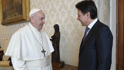 Il Papa ha incontrato Conte