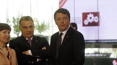 Renzi, Orban cambi idea o Ungheria fuori