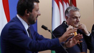 Salvini, Orban? Fatta scelta democratica