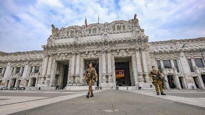 In Lombardia contagi in calo, +458 morti