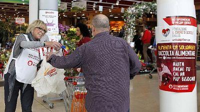Caritas, aumenta richiesta cibo fino +50