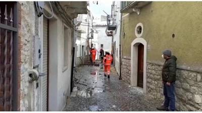 Crollo palazzine a Alberona,morta 80enne