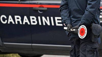 Sputo a carabiniere e viene arrestato