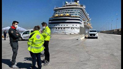 Costa Diadema, posto medico nel porto
