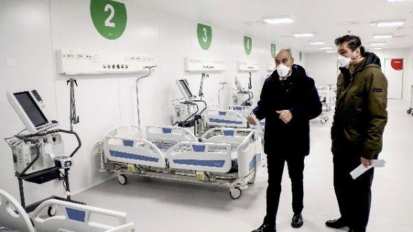 Lunedì primi pazienti in ospedale Fiera