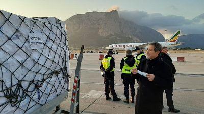 Coronavirus: a Palermo aereo da Cina