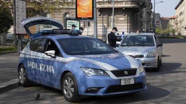 Raddoppiate persone multate a Genova