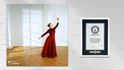 Des faits qui parlent d'eux-mêmes : le TECNO CAMON 15 Premier a battu un nouveau record Guinness avec le plus grand folioscope du monde