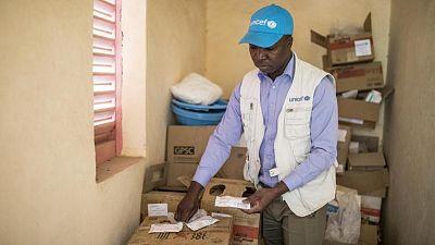 Coronavirus - Mali : L'Union européenne (UE) et le Gouvernement du Danemark ont financé l'envoi de 7,5 tonnes de fournitures médicales essentielles pour l'UNICEF au Mali