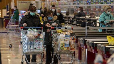 Coronavirus:fa spesa 11volte in 1 giorno