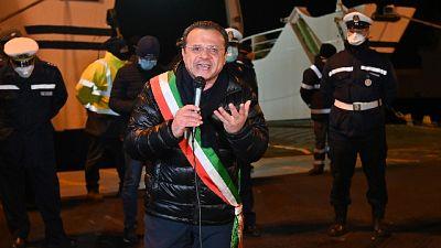Sindaco Messina controlla arrivi Stretto