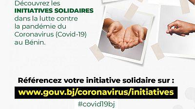 Coronavirus - Bénin : Engagez-vous et référencez votre initiative solidaire sur le site officiel du Covid-19 au Bénin