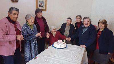 Covid-19: nonna compie 104, festa in Rsa