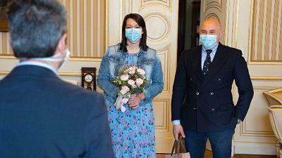 Medici sposi 'in tempo di guerra'