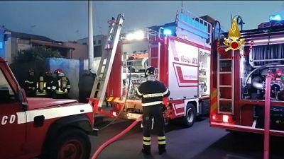 Incendio in casa,morto ex docente Unical