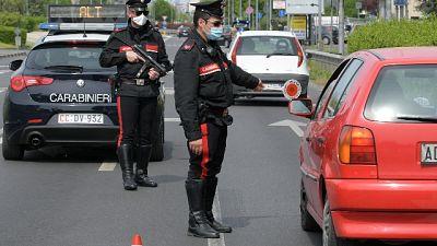 Da Salini 60mila mascherine forze ordine