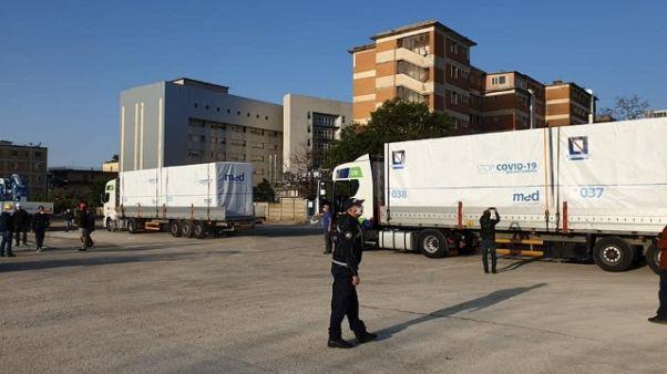 Anche a Caserta arriva ospedale modulare