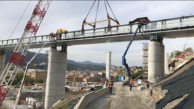 Ponte, in quota terz'ultima campata