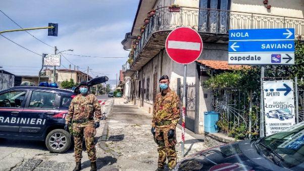 Zona rossa Saviano, c'è anche Esercito