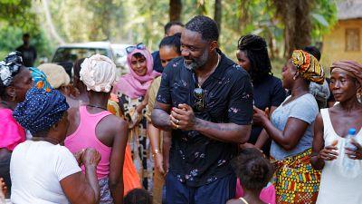 Idris et Sabrina Elba, ambassadeurs de bonne volonté des Nations Unies, appellent avec le Fonds international de développement agricole (FIDA) à provisionner un fonds de secours coronavirus de 200 millions d'USD pour les communautés rurales
